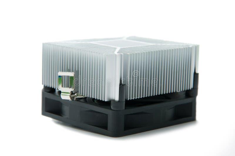 Dispositivo di raffreddamento isolato immagine stock libera da diritti
