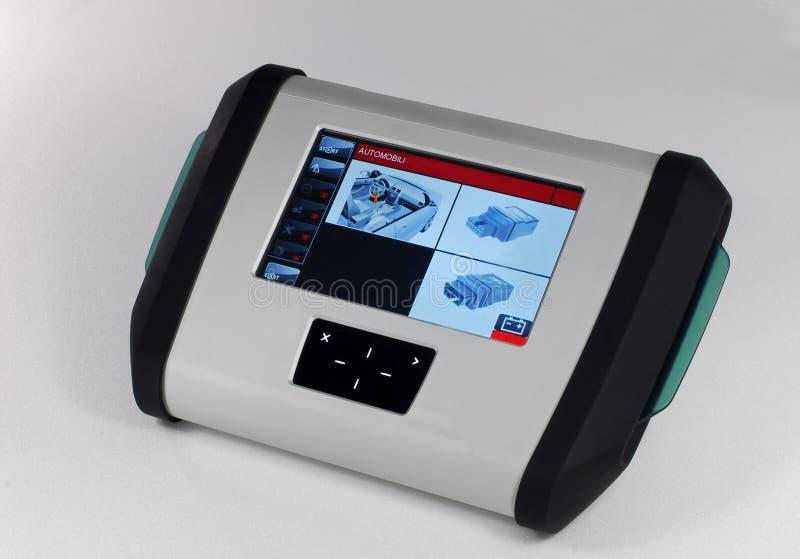 Dispositivo diagnóstico do carro foto de stock royalty free