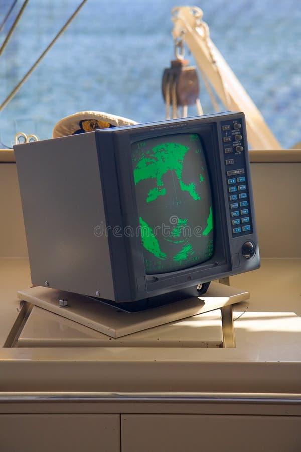 Dispositivo do Sonar ou do radar fotografia de stock royalty free