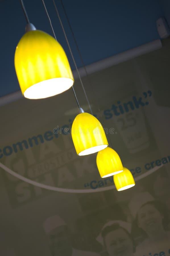Dispositivo elétrico de iluminação abstrato imagens de stock royalty free