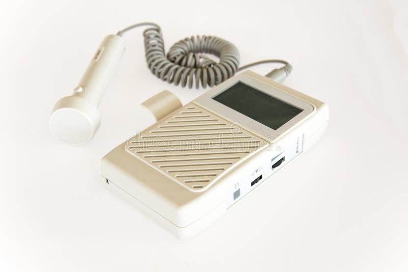 Dispositivo médico da investigação ultrassônica para o equipamento do hospital dos diagnósticos imagens de stock royalty free