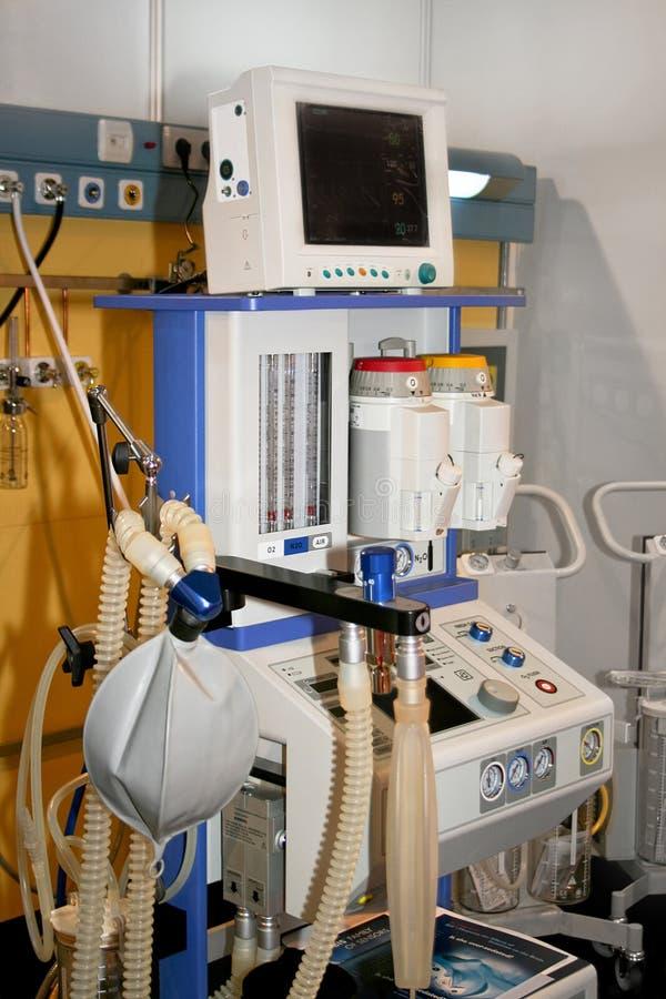 Dispositivo médico del aire imagen de archivo libre de regalías
