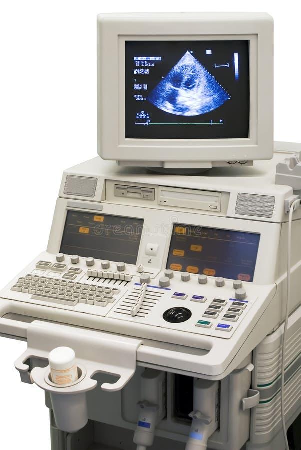 Dispositivo médico ultra-sônico imagens de stock
