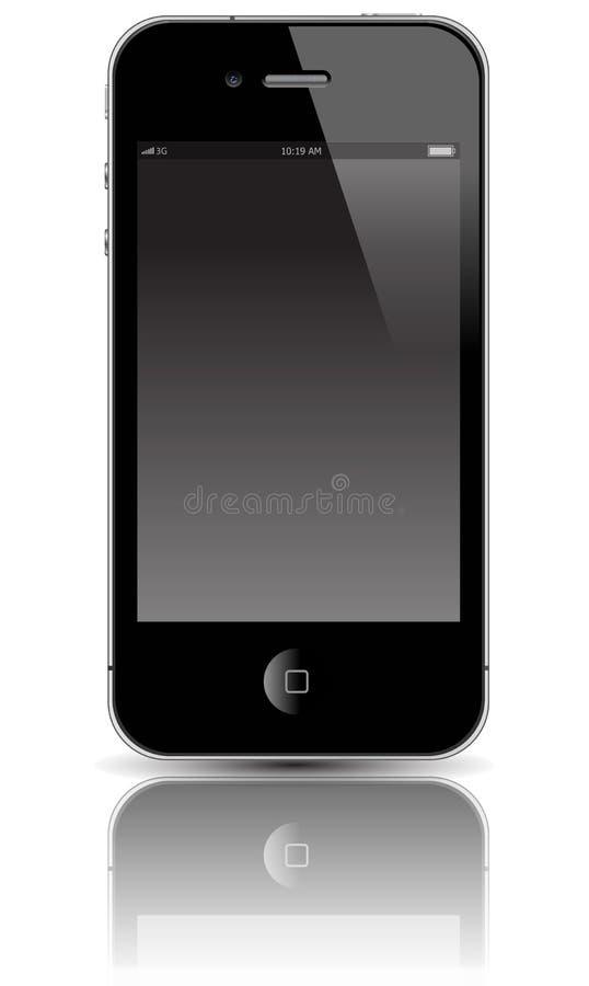 Dispositivo móvel ilustração do vetor