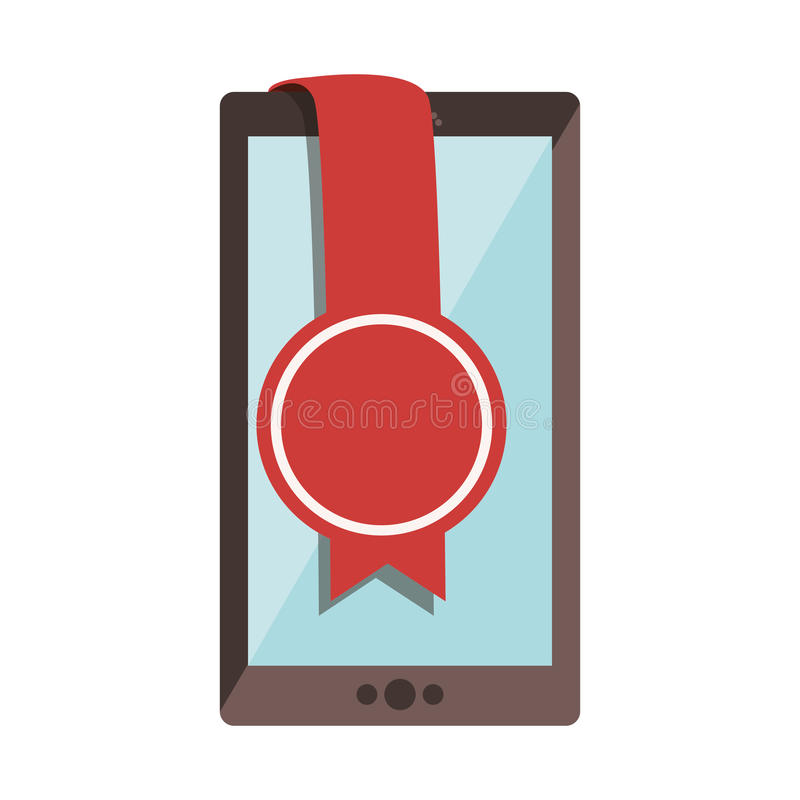 Dispositivo portatile di Smartphone illustrazione vettoriale