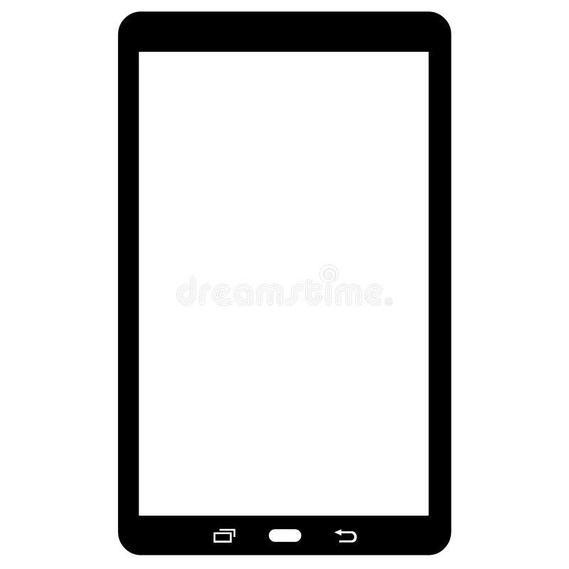 Dispositivo trasparente di Victor Tablet di immagine di download illustrazione di stock