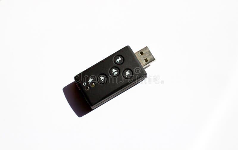 dispositivo USB externo fotos de archivo libres de regalías