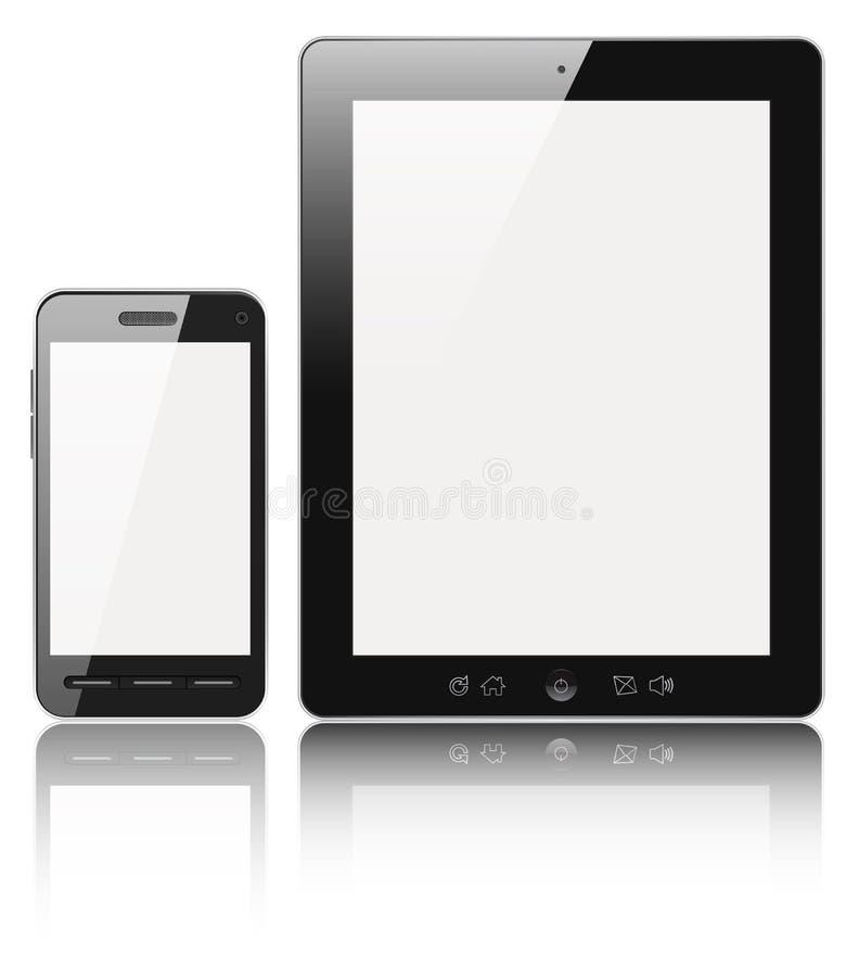 Dispositivos digitales modernos libre illustration