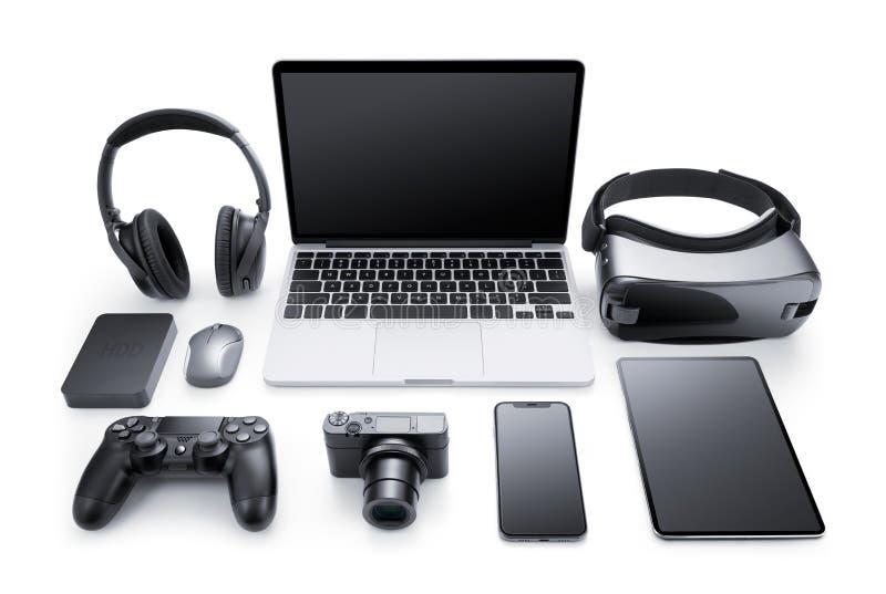 Dispositivos e acessórios fotos de stock