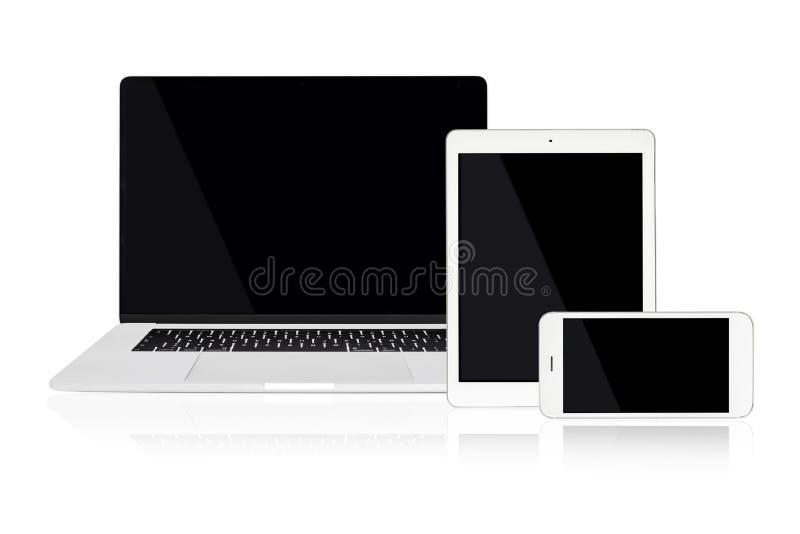 Dispositivos múltiples para el anuncio responsivo de la web fotografía de archivo libre de regalías
