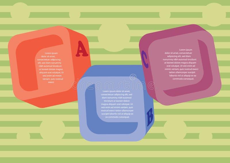 Disposizione Colorata Dei Quadrati. Fotografia Stock Libera da Diritti