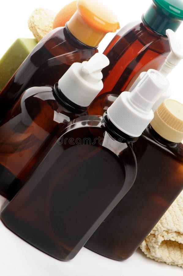 Disposizione dei cosmetici immagini stock libere da diritti