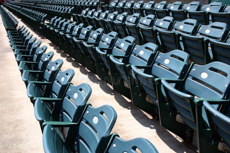 Disposizione dei posti a sedere dello stadio immagine stock