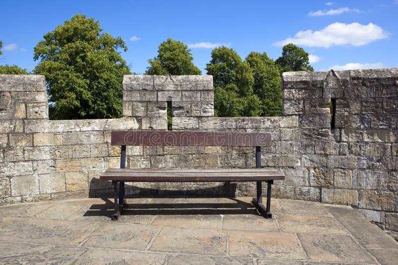 Disposizione dei sedili dei mura di cinta di York fotografia stock