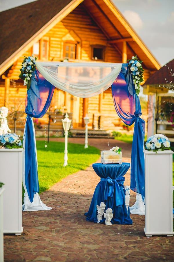 Disposizione interna dei posti per le nozze immagini stock libere da diritti