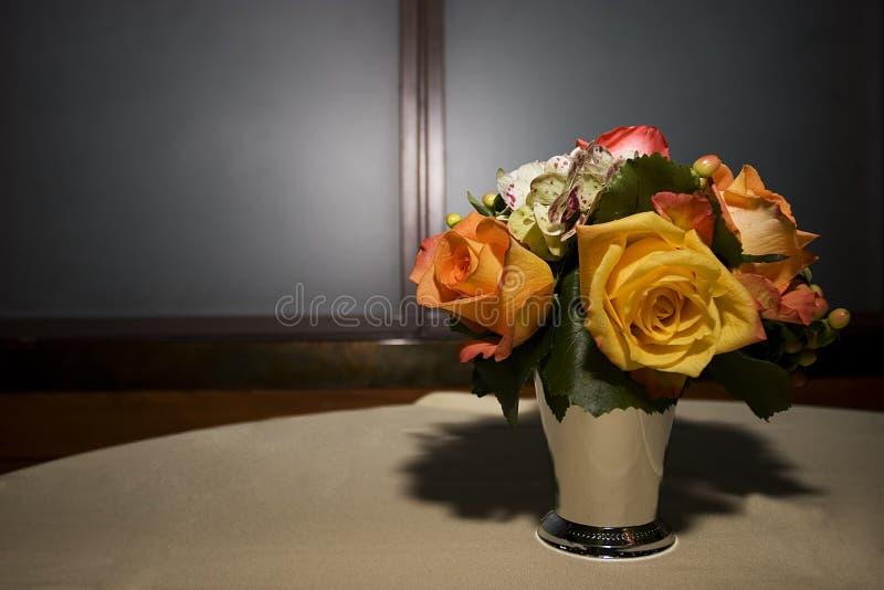 Disposizione romantica immagine stock