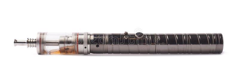 Disposizione testamentaria elettronica della sigaretta di Vaping isolata fotografia stock libera da diritti