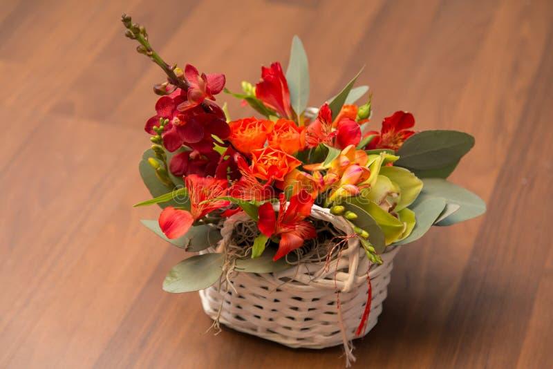 Disposizioni dei fiori della primavera fotografia stock libera da diritti