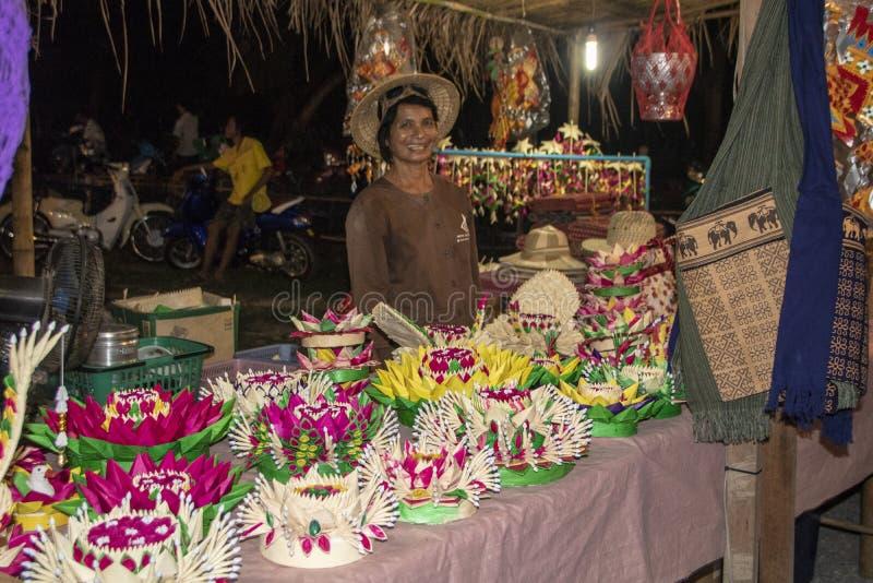 Disposizioni dei fiori di Tthai fotografie stock libere da diritti