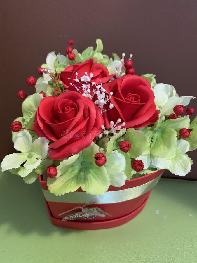 Disposizioni floreali per tutte le celebrazioni fotografie stock