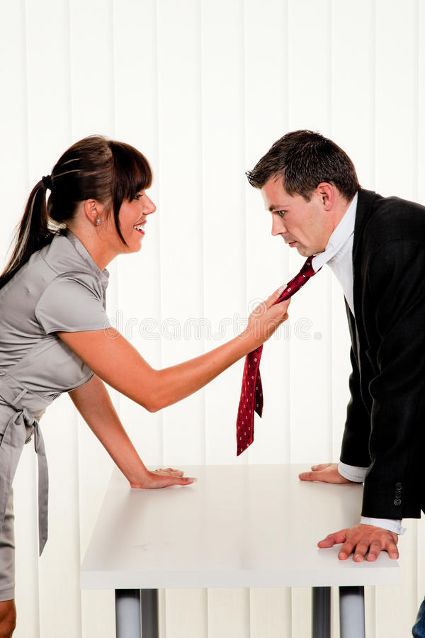 Download Dispute Among Employees At Work In The Office Royalty Free Stock Images - Image: 9893069