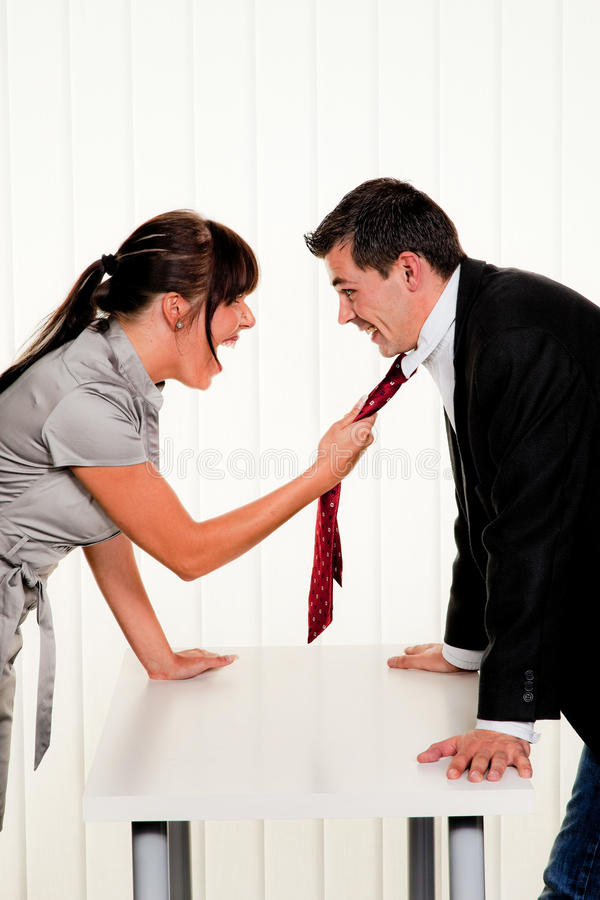 Download Dispute at the workplace stock image. Image of people - 19347577