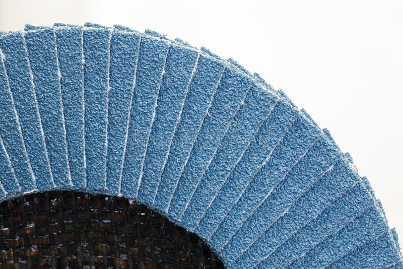 Disque abrasif pour le meulage image stock