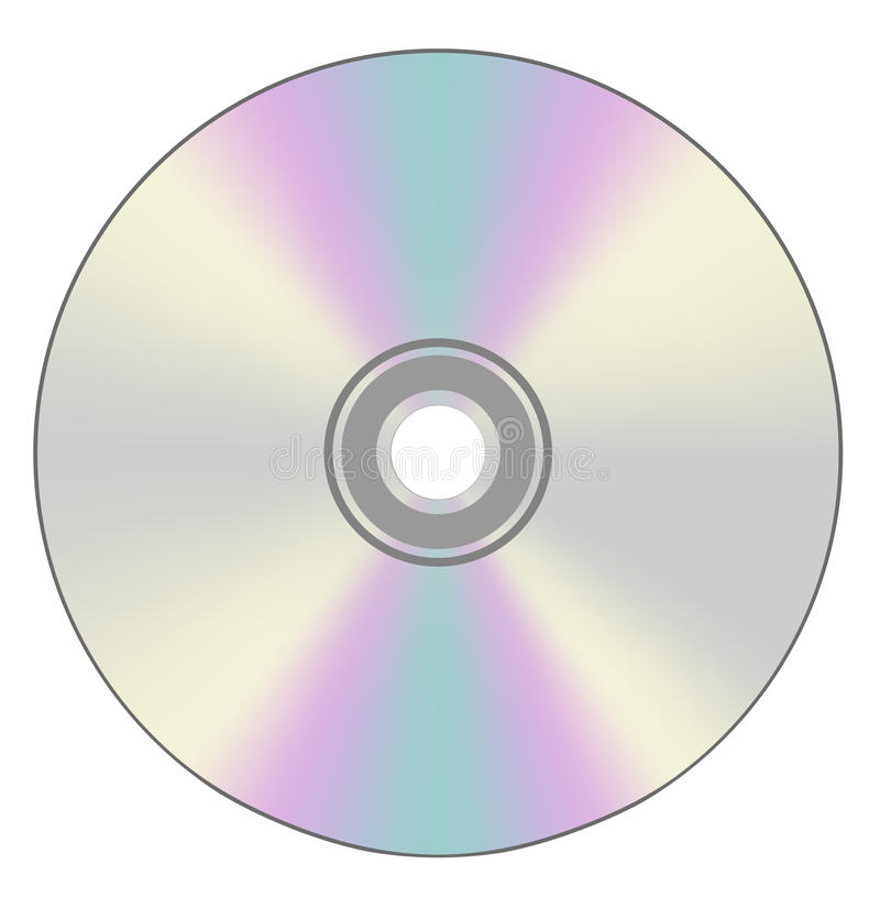 Disque compact cd  photographie stock