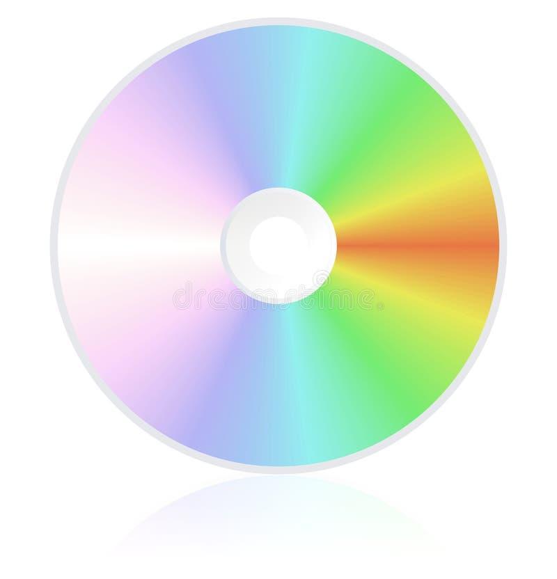 Disque compact de dvd Cd illustration de vecteur