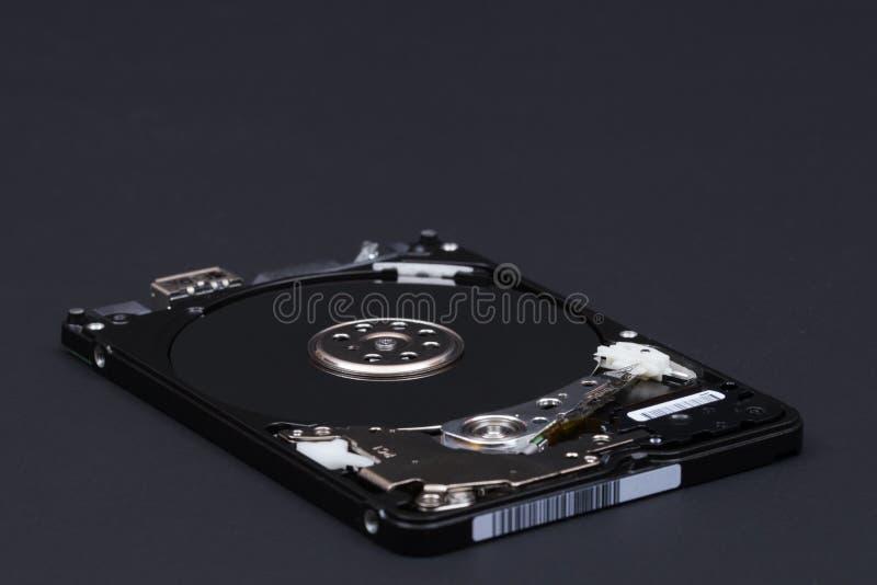 Disque démonté d'unité de disque dur pour le nlaptop photos libres de droits