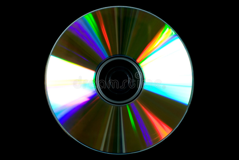 Disque de CD ou de DVD photos libres de droits