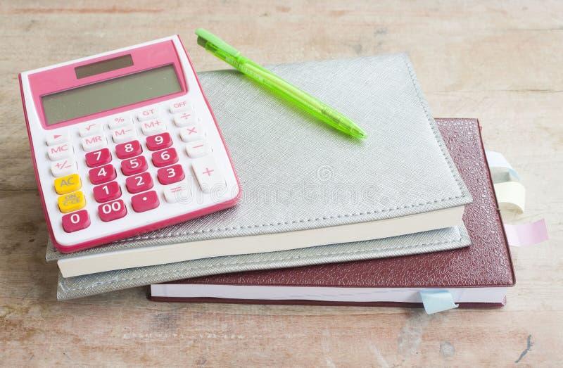 disque mensuel de planificateur de carnet pour financier image libre de droits