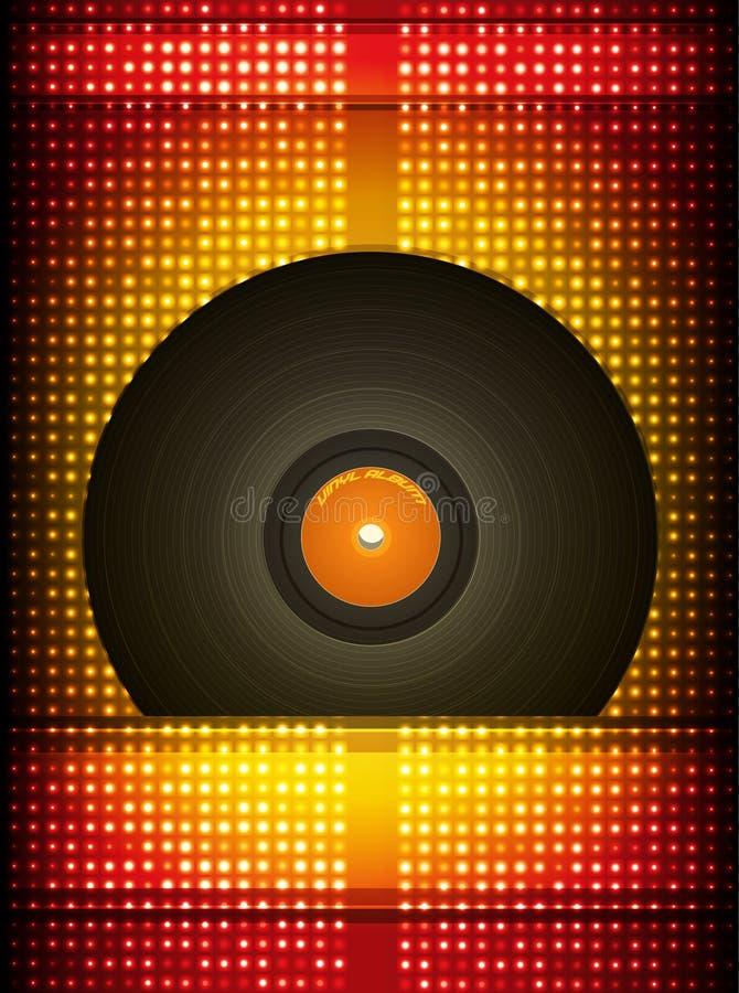 Disque vinyle. photo libre de droits