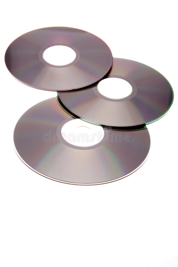 Disques compacts image stock