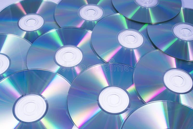 Disques compacts ou Cd photos libres de droits