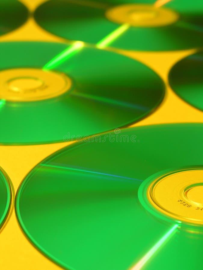 Disques compacts-ROM image libre de droits