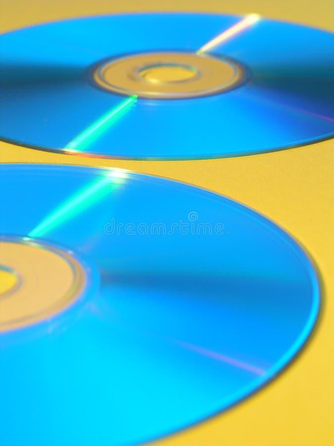 Disques compacts-ROM photographie stock libre de droits