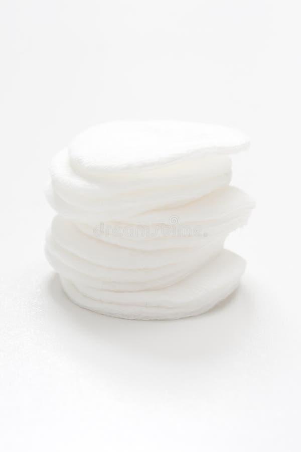 Disques de coton photos stock