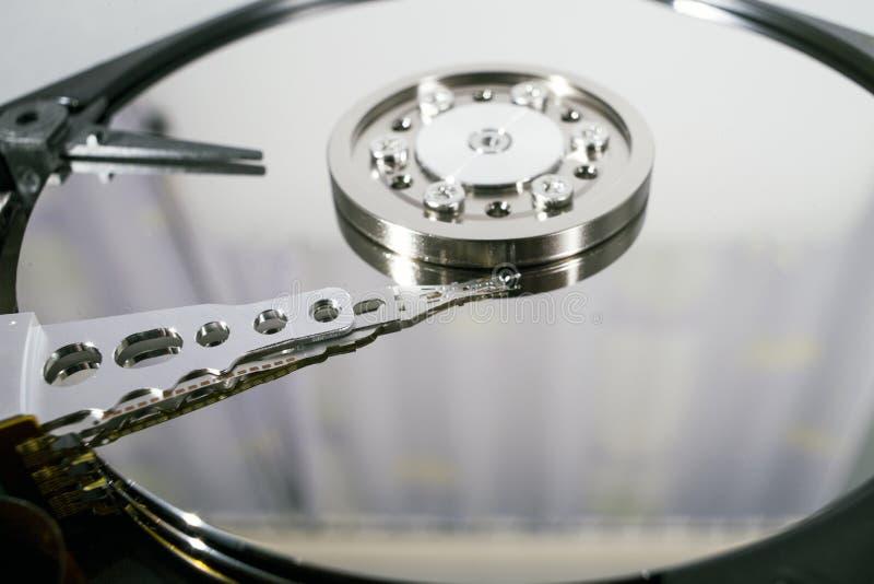 Disques de disque dur Ouvrez le disque dur de hdd Récupération de données de media endommagé photos stock
