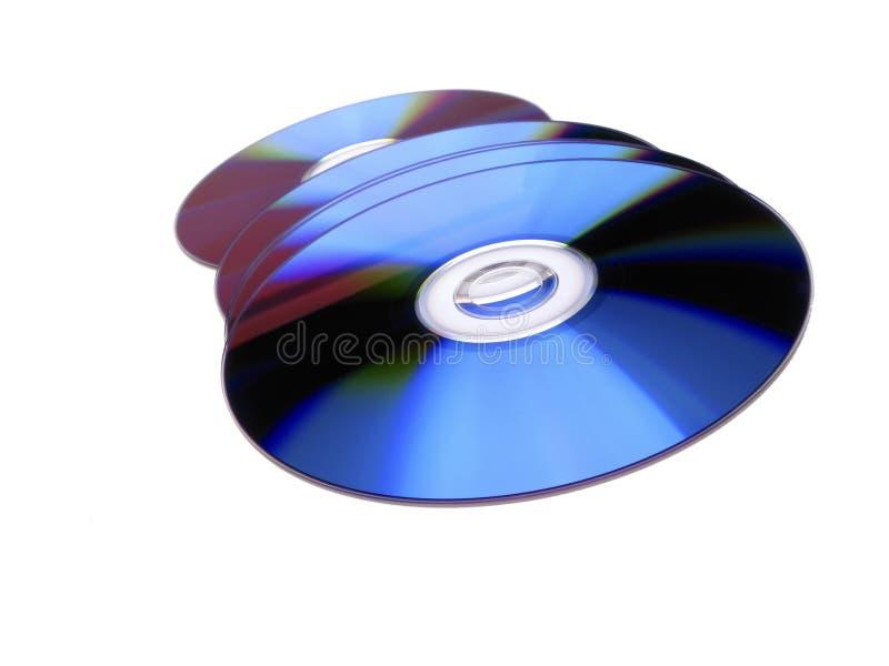Disques de Dvd photographie stock