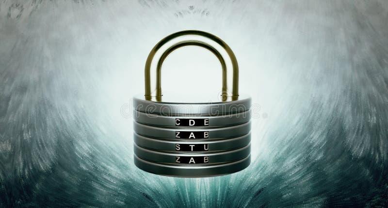 Disques de protection des données illustration libre de droits