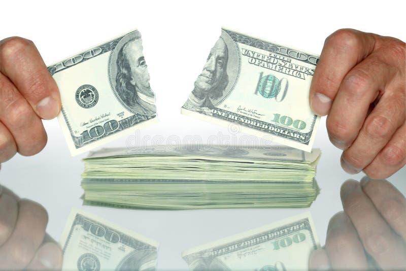 Download Disrupt Dollars stock photo. Image of conceptual, dollar - 10586758