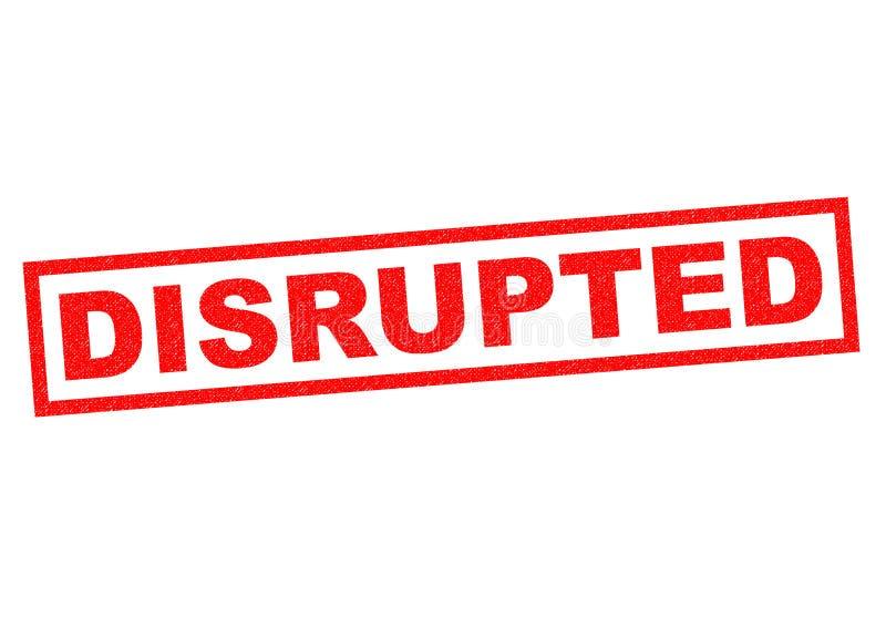 disrupted ilustração royalty free