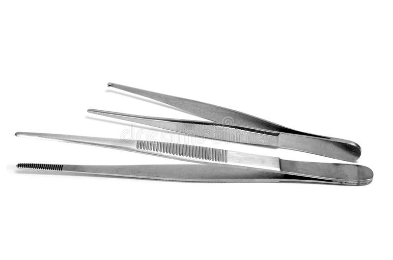 Dissecting forceps royalty free stock images