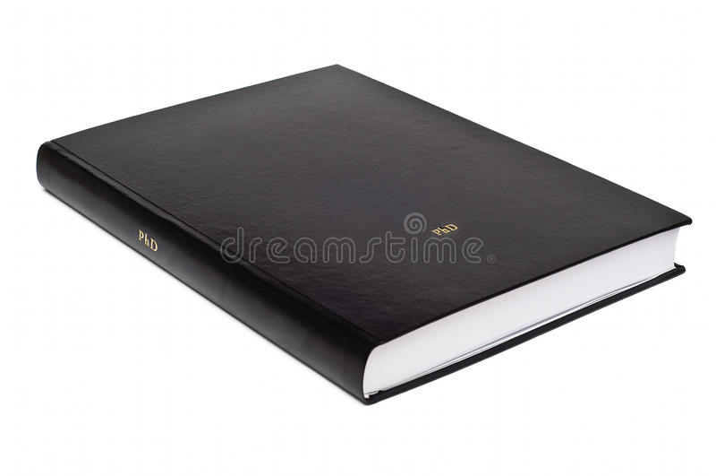 Download Dissertazione Di Laurea Con Copertina Rigida Immagine Stock - Immagine di libreria, formazione: 30826125