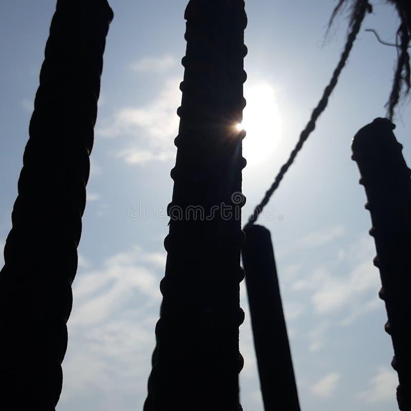Dissimulation de Sun photo stock