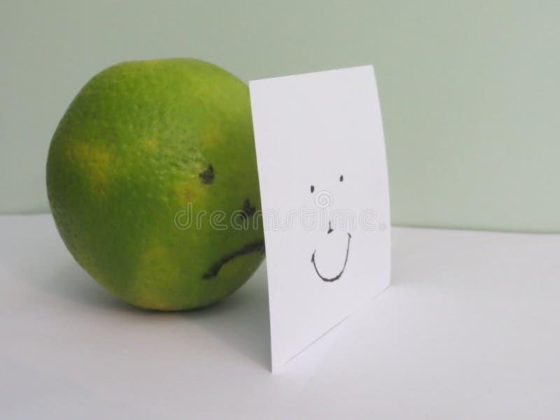 Dissimulation derrière le sourire images libres de droits