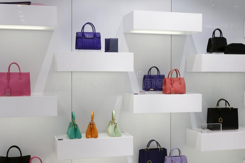 Dissona de luxe de marque de sac à main de la Chine, adobe RVB images libres de droits
