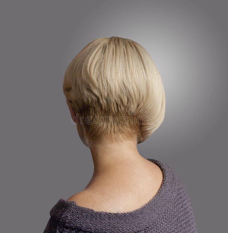 dissymetric hairstyle στοκ εικόνες