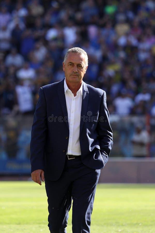 Distacco di Gustavo Alfaro di Boca Juniors immagini stock